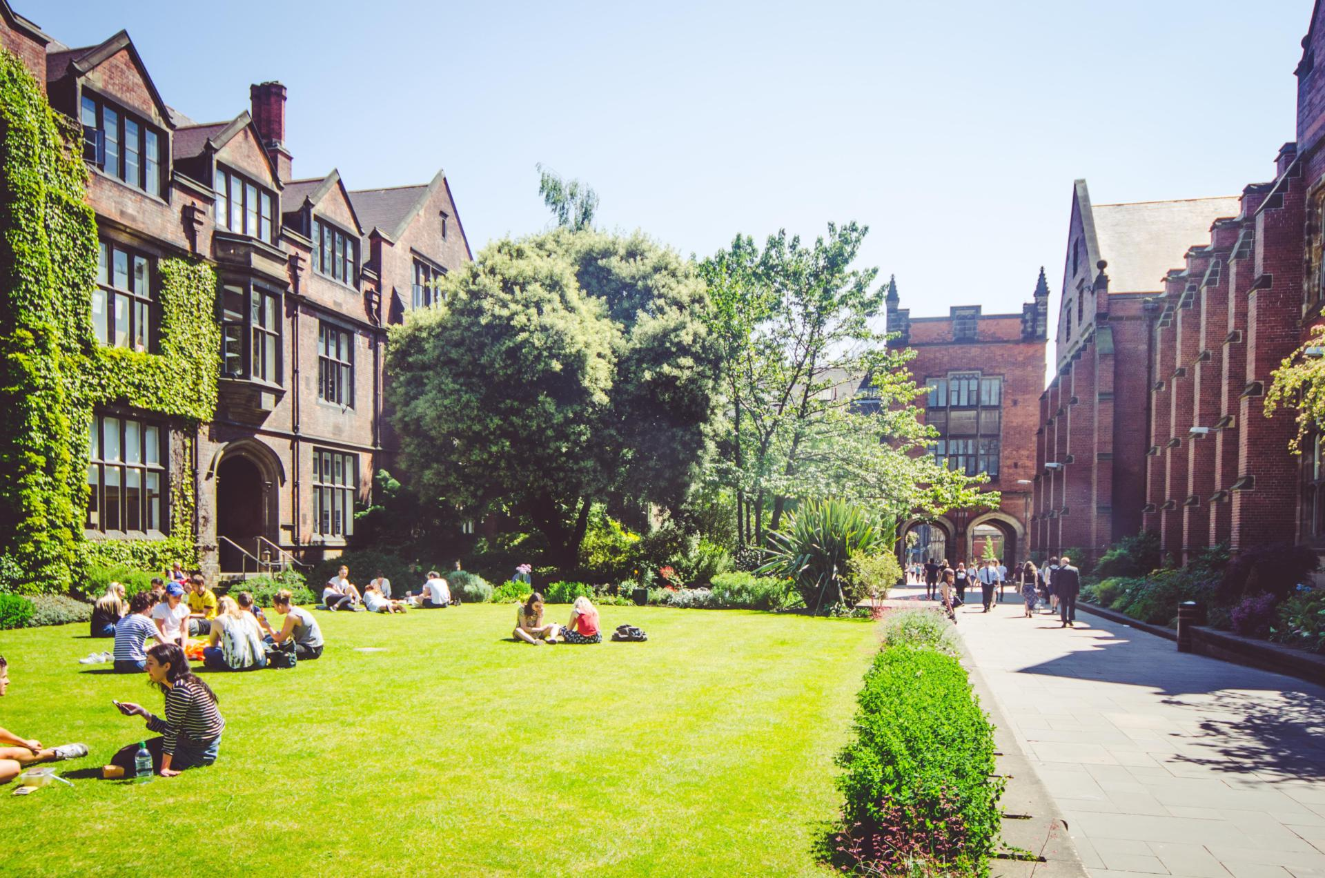 Newcastle University's campus